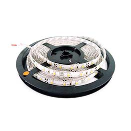 Tira LED BASIC SMD5050, DC12V, 5m (60 Led/m) - IP65, Verde