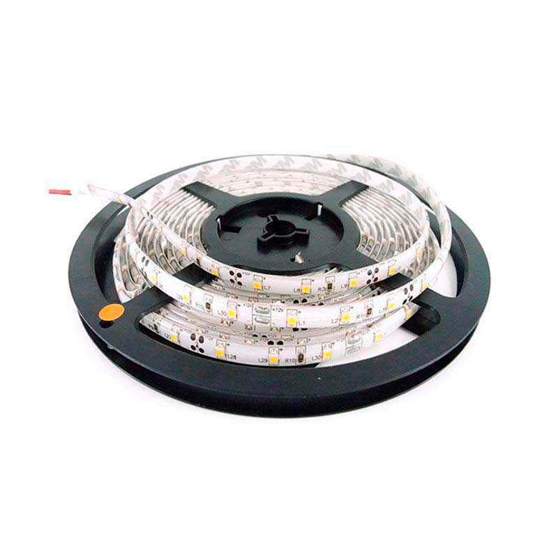 Tira LED BASIC SMD5050, DC12V, 5m (60 Led/m) - IP65, Rojo
